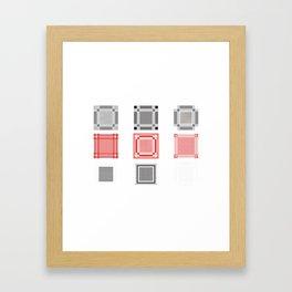 Keffiyeh Framed Art Print