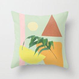Partially Abstract 1 Throw Pillow