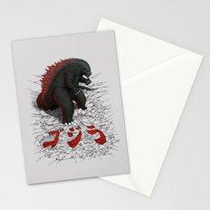 The Great Daikaiju Stationery Cards