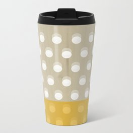 Dots Metal Travel Mug
