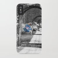 manchester iPhone & iPod Cases featuring Manchester Graffiti  by John Shepherd Photography