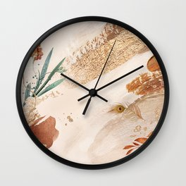 My Courage  Wall Clock