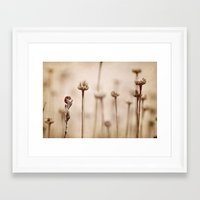 lonely Framed Art Prints featuring Lonely by Guido Montañés