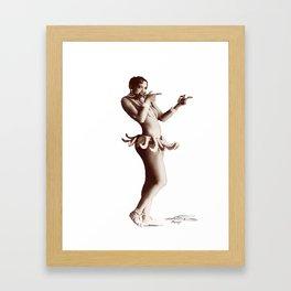 Josephine Baker - Créole Goddess Framed Art Print