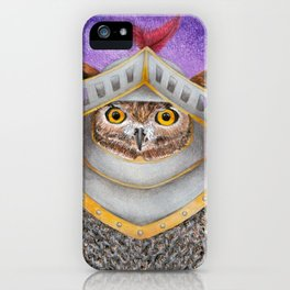 Knight Owl iPhone Case