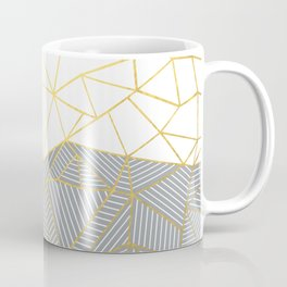 Ab Half and Half Grey Coffee Mug