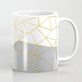 Ab Half and Half Grey Coffee Mug