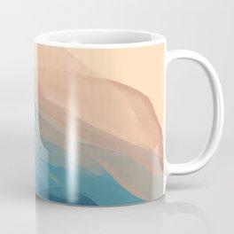 Blue Waves In Desert Peaks Coffee Mug