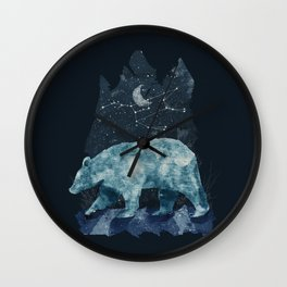 The Great Bear Wall Clock