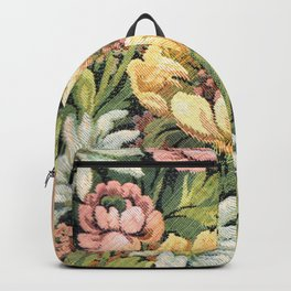 Grandma's Vintage Floral Couch Backpack