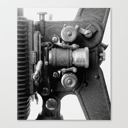 Projector  - Two Canvas Print