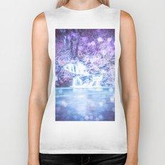 Mermaid Waterfall Biker Tank
