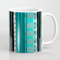 road Mugs featuring Road by JuniqueStudio