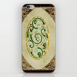 Celtic Old Traditional Tapestry iPhone Skin