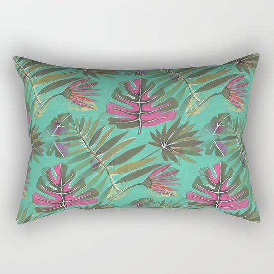 Tropical Beauty Rectangular Pillow