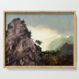 Misty Mountain Serving Tray