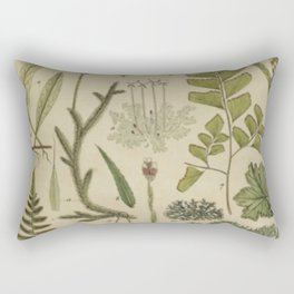 Ferns And Mosses Rectangular Pillow