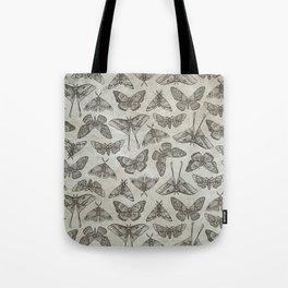 Lepidoptera Beige Tote Bag
