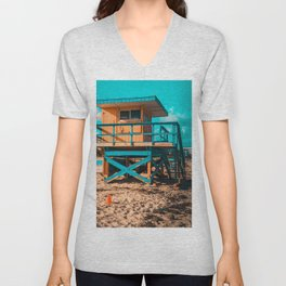 Miami Beach Unisex V-Neck