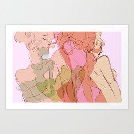 April Love Art Print