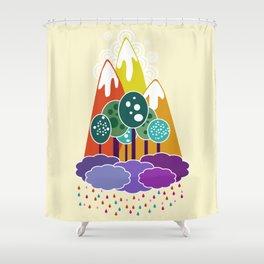 Lala land Shower Curtain
