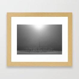 Light Fog Framed Art Print