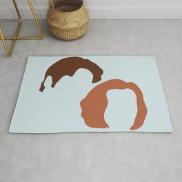 Mulder and Scully, X-Files Rug