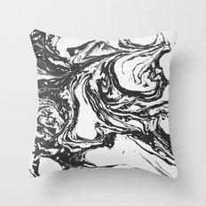 Swirling World V.2 Throw Pillow