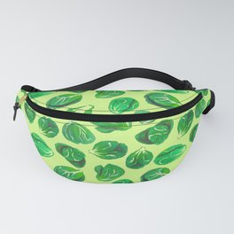Brussel sprouts pattern for veggie lovers Fanny Pack