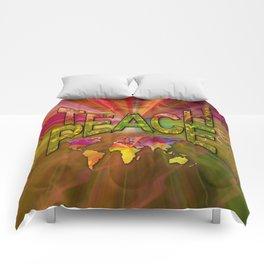 Teach Peace Comforters