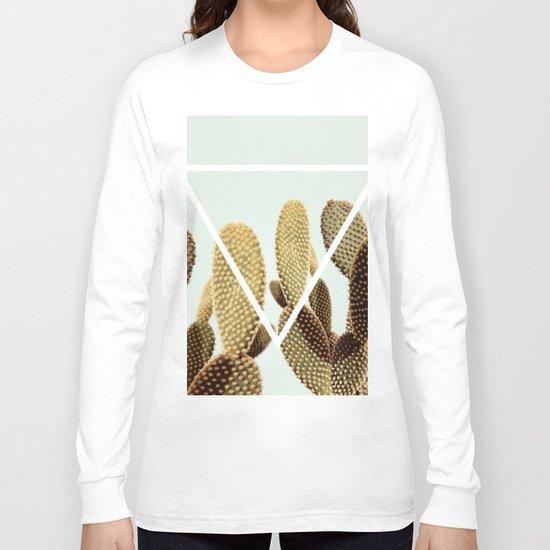Cactus geometry Long Sleeve T-shirt