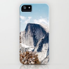 Half Dome from Yosemite Falls iPhone Case