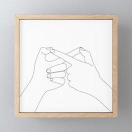 Together Forever Framed Mini Art Print