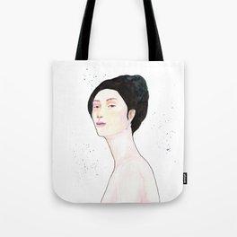 Watercolor - Portrait Tote Bag