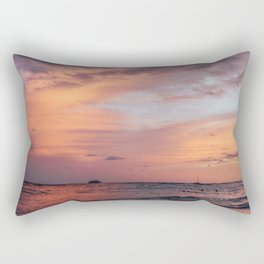 Cotten Candy Sunset Rectangular Pillow