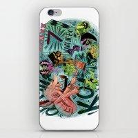 scott pilgrim iPhone & iPod Skins featuring Scott Pilgrim, Fan Art by James Burlinson