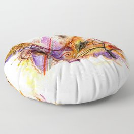 First of Fall Floor Pillow