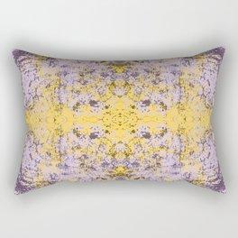 Inira - Abstract Boho Chic Tie-Dye Style Mandala Art Rectangular Pillow