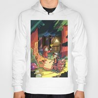 gravity falls Hoodies featuring Gravity Falls by Izzy