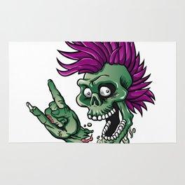 Punk zombie Rug