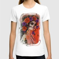 day of the dead T-shirts featuring Day of the Dead by Cellesria /Tanya Varga - Digital Artist