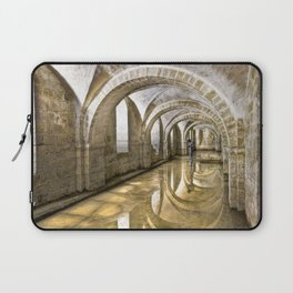 Winchester Cathedral Crypt Laptop Sleeve