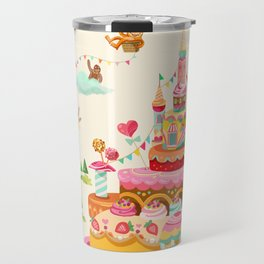 Ice Cream Castles In The Air Travel Mug