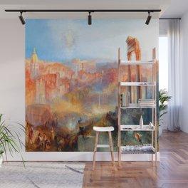 William Turner Modern Rome Wall Mural
