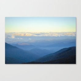 Clouds at eye level  Canvas Print
