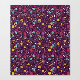 purple seeds Canvas Print