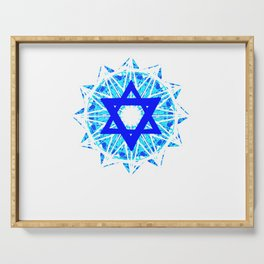 Jewish Star Serving Tray