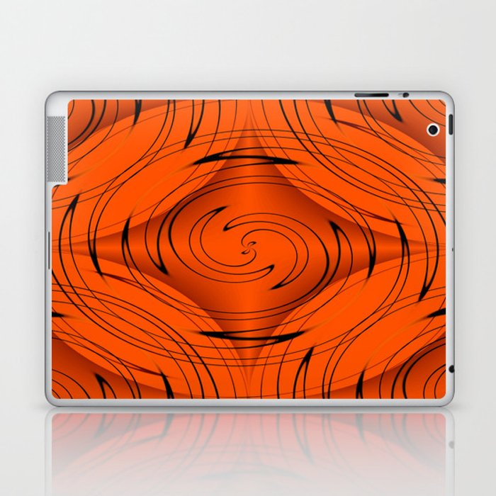 Tangerine Laptop & iPad Skin