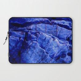 BLUE STONE TEXTURES Laptop Sleeve