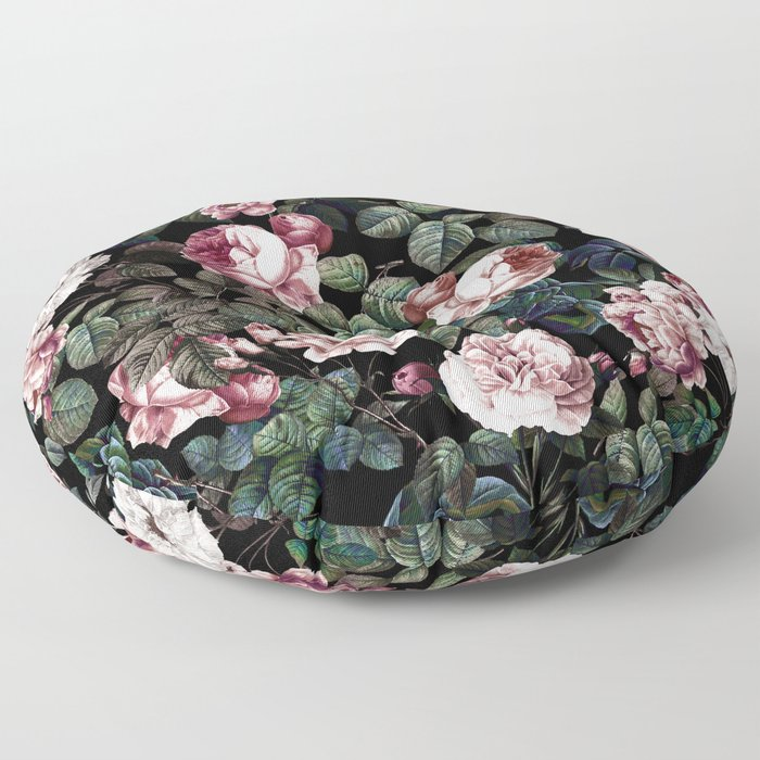 NIGHT FOREST XX Floor Pillow
